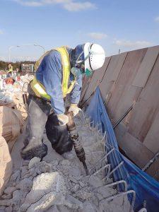 橋梁補習工事施工例