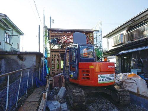 木造家屋解体工事
